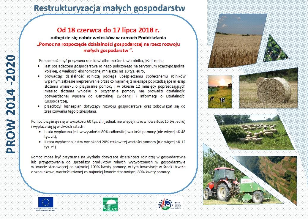 Restrukturyzacja gospodarstw rolnych