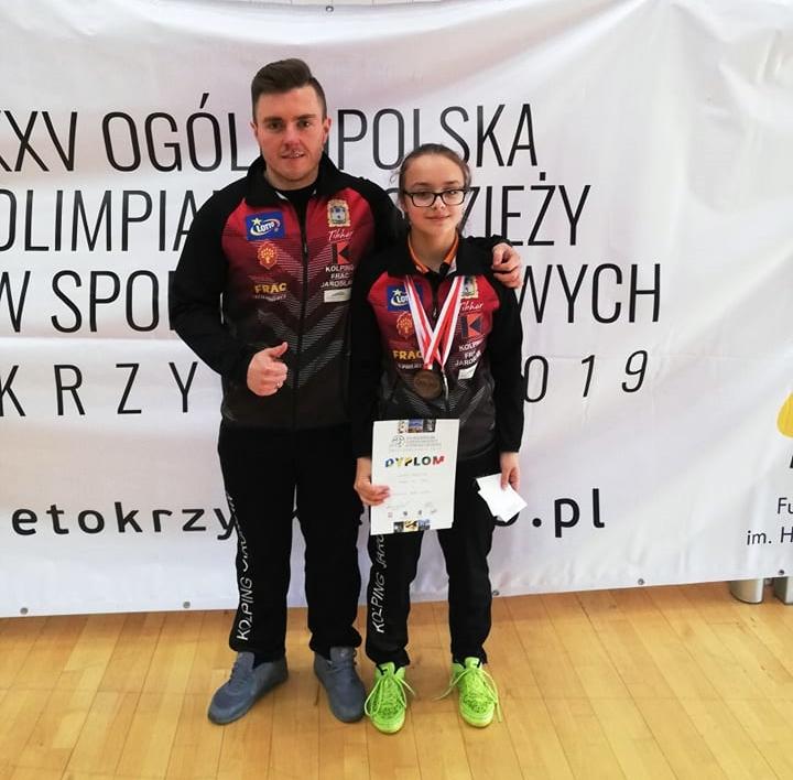 TRZY MEDALE MISTRZOSTW POLSKI ANNY BRZYSKIEJ!
