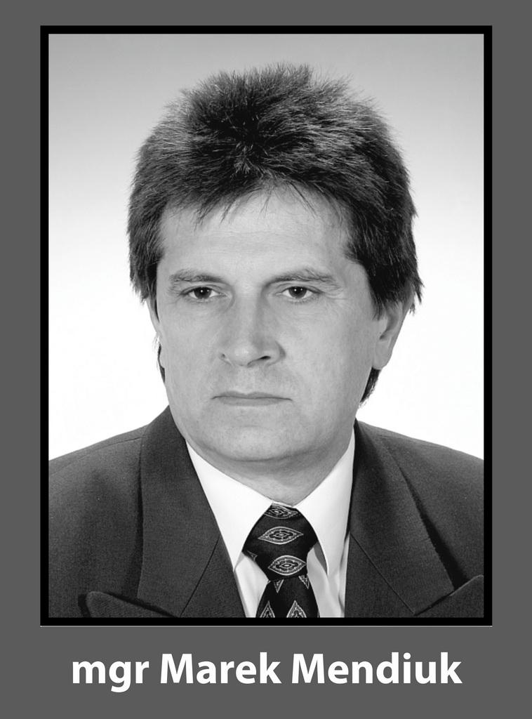Odszedł Marek Mendiuk