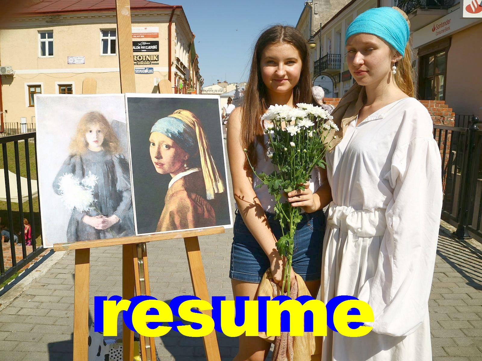 Resume…