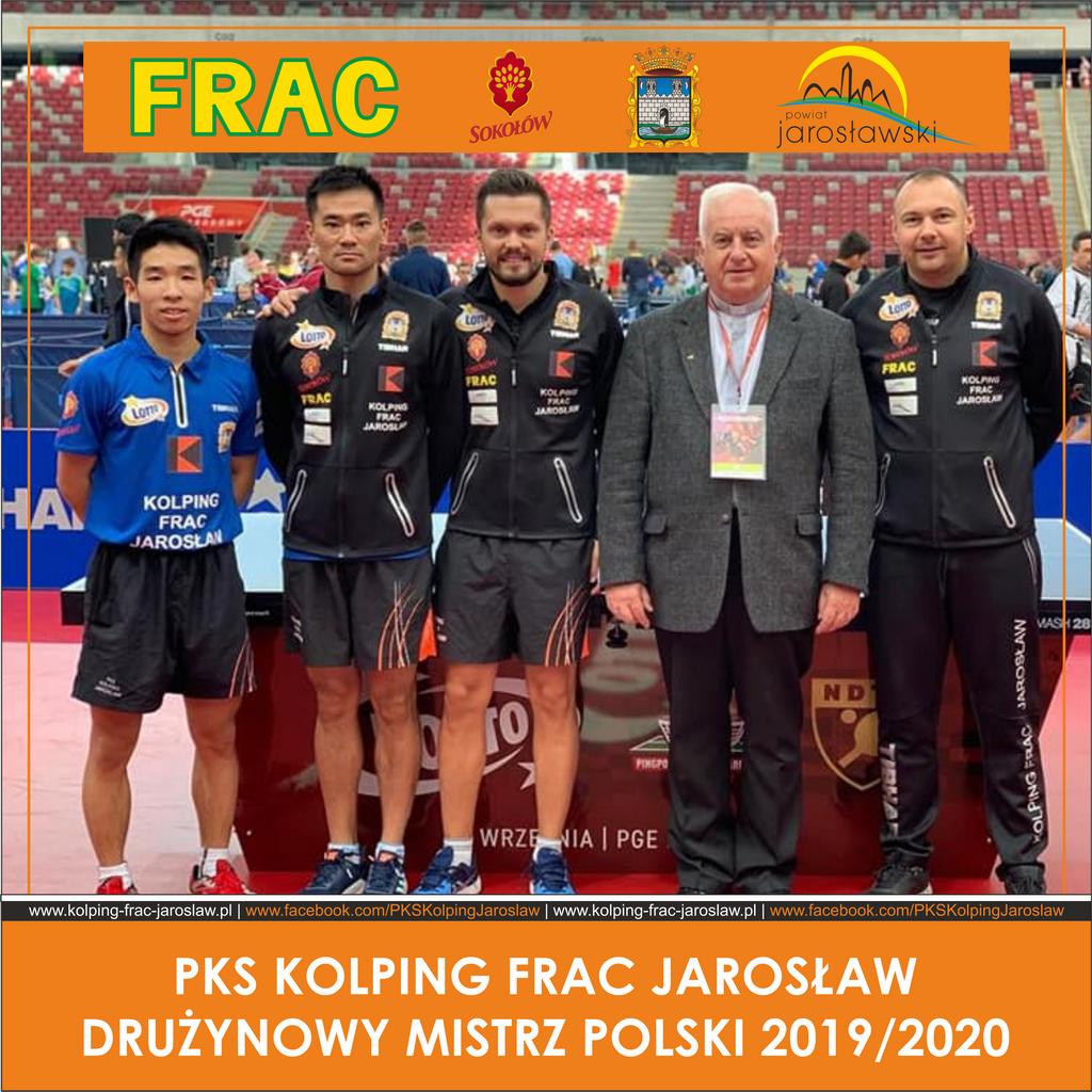Kolping Frac Jarosław Drużynowym Mistrzem Polski!